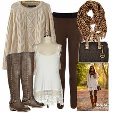 frugal fashion friday brown autumn frugal fall fashion