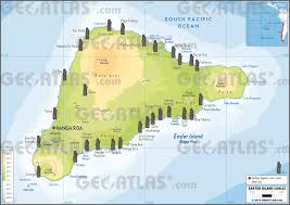 chile physical map geoatlas dependencies overseas easter island map city