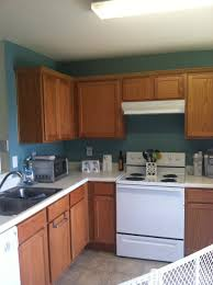 kitchen paint colors with light oak cabinets behr venus teal oak cabinets kitchen this looks like our kitchen a
