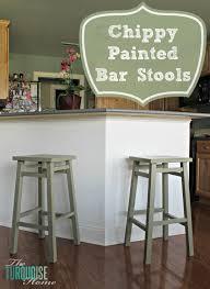 Breakfast Bar Stools Furniture Dark Green Wooden Breakfast Bar Stools For Modern