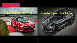 camaro zl1 vs corvette fight chevrolet camaro zl1 vs chevrolet corvette grand sport