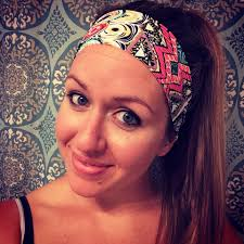 hippie headbands tribal print headbands fitness headbands boho headbands