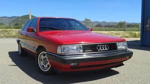 audi 5000 for sale 1987 audi 5000cs turbo quattro 5 speed for sale on bat auctions