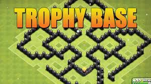 layout design th7 clash of clans town hall 7 trophy base design th7 speed build