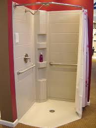 Round Shower Curtain Rod For Corner Shower 42 Neo Angle Shower Curtain Rod Best 25 Corner Kits Ideas On