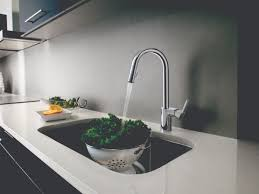 kitchen bring a little chic to the sink with the new moen align