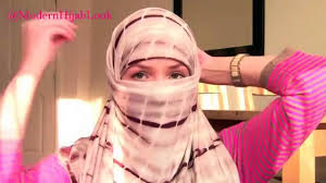niqab tutorial on dailymotion two easy way of niqab wearing tutorials using jercey loop scarf