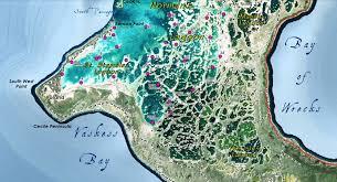 Christmas Map Christmas Island Fishing Map U2013 Cascade Gis U0026 Consulting