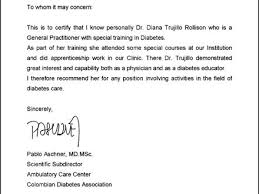physician letter of recommendation doctor letter template 13