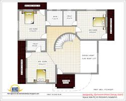 Floor Plans For 1500 Sq Ft Homes Square Feet Bedroom Villa Kerala Home Design And Floor Plans Ideas
