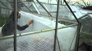 Inside Greenhouse Ideas Putting Bubble Plastic On Greenhouse To Grow Chillies Youtube