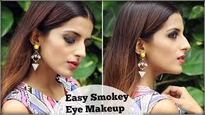 easy smokey eye make up tutorial for wedding cocktail party