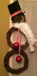 Grapevine Snowman For Outdoors by 26 Diy Tutorials And Ideas To Make A Snowman Wreath Guide Patterns