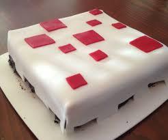 minecraft cake cake 5 steps