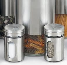 8 piece metal kitchen canister set stainless steel sugar storage