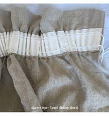 washed linen curtains drops french flax linen yargade fabric by