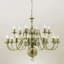 Brass Chandelier Impex Flemish 21 Light Gold Polished Brass Chandelier