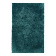 peacock blue shag rug
