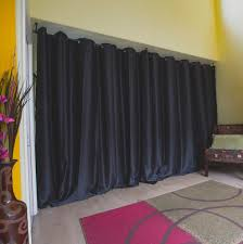 curtain room dividers diy interior room divider curtain to make separate your living space