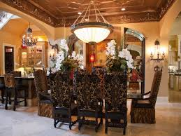 Old World Dining Room by Donna U0027s Decked Out Dallas Domiciles Hgtv Dallas And Decking