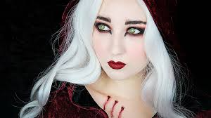 little red riding hood halloween costume toddler little red riding hood werewolf makeup tutorial youtube