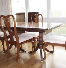 Queen Anne Dining Room Set by Georgian Style Mahogany Pedestal Dining Table U0026 Queen Anne Chairs