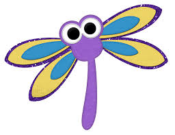 cartoon clipart dragonfly pencil and in color cartoon clipart