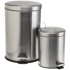 Kitchen Trash Can Ideas Ideas 13 Gallon Trash Can Stainless Steel Stainless Steel