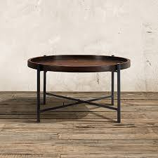 Arhaus Coffee Tables Palencia 34 Coffee Table With Iron Base Coffee Woods And