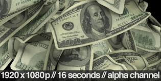 100 dollar bills flying around realistically by butlerm videohive