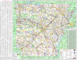 Interstate Map Of The United States by Large Detailed Map Of Arkansas With Cities And Towns