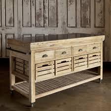 kitchen island table on wheels unpolished walnut hardwood rolling chart island with black iron