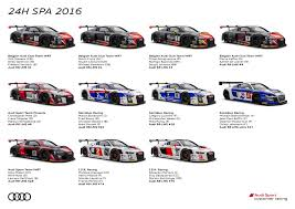 bell audi hours 11 audi r8 gt3 race cars at 24 hours of spa fourtitude com