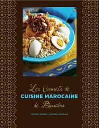 livre de cuisine marocaine les carnets de cuisine marocaine de bouchra valérie lhomme