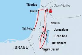 Where Is Israel On The Map Israel Tours U0026 Travel Intrepid Travel Au