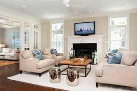 Coastal Living In Fairfield County Beach Style Family Room - Family room styles