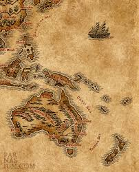 Lotr Map Lotr Style Map