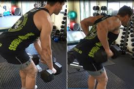 how to bent over two dumbbell row ignore limits