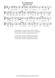 ó szép fenyő hegyháti máté imslp petrucci music library