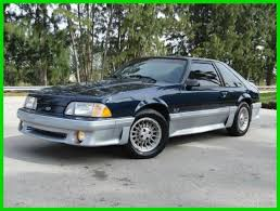 ford mustang gt horsepower by year 1989 ford mustang gt 5 0l v8 automatic 25th year anniversary cold