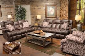duck dynasty cedar creek power lay flat reclining sofa with drop