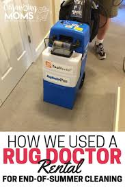 How Much For Rug Doctor Rental How We Used A Rug Doctor Rental For End Of Summer Cleaning