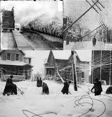 worst blizzard in history top 10 winter storms to wallop great lakes states since 1913