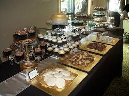 dessert and candy buffets