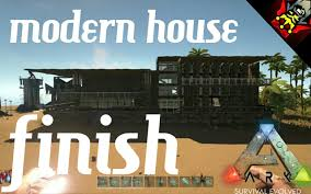 ark survival evolved building with redking modern house ep 1 part