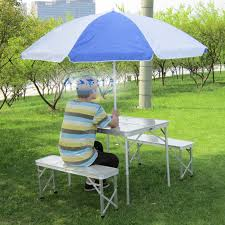 Portable Folding Picnic Table Traveling Cheap Portable Folding Picnic Table And Seat With