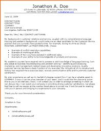 example cover letter for customer service cover letter tips for
