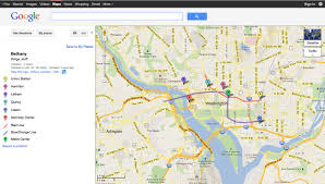 Washington Google Maps by Fortnight Journal Print Article Victoria Johnson Google Maps