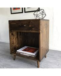 handcrafted wood find the best savings on pair of mid century modern inspired