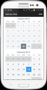 timessquare a calendar view for ios and android apps
